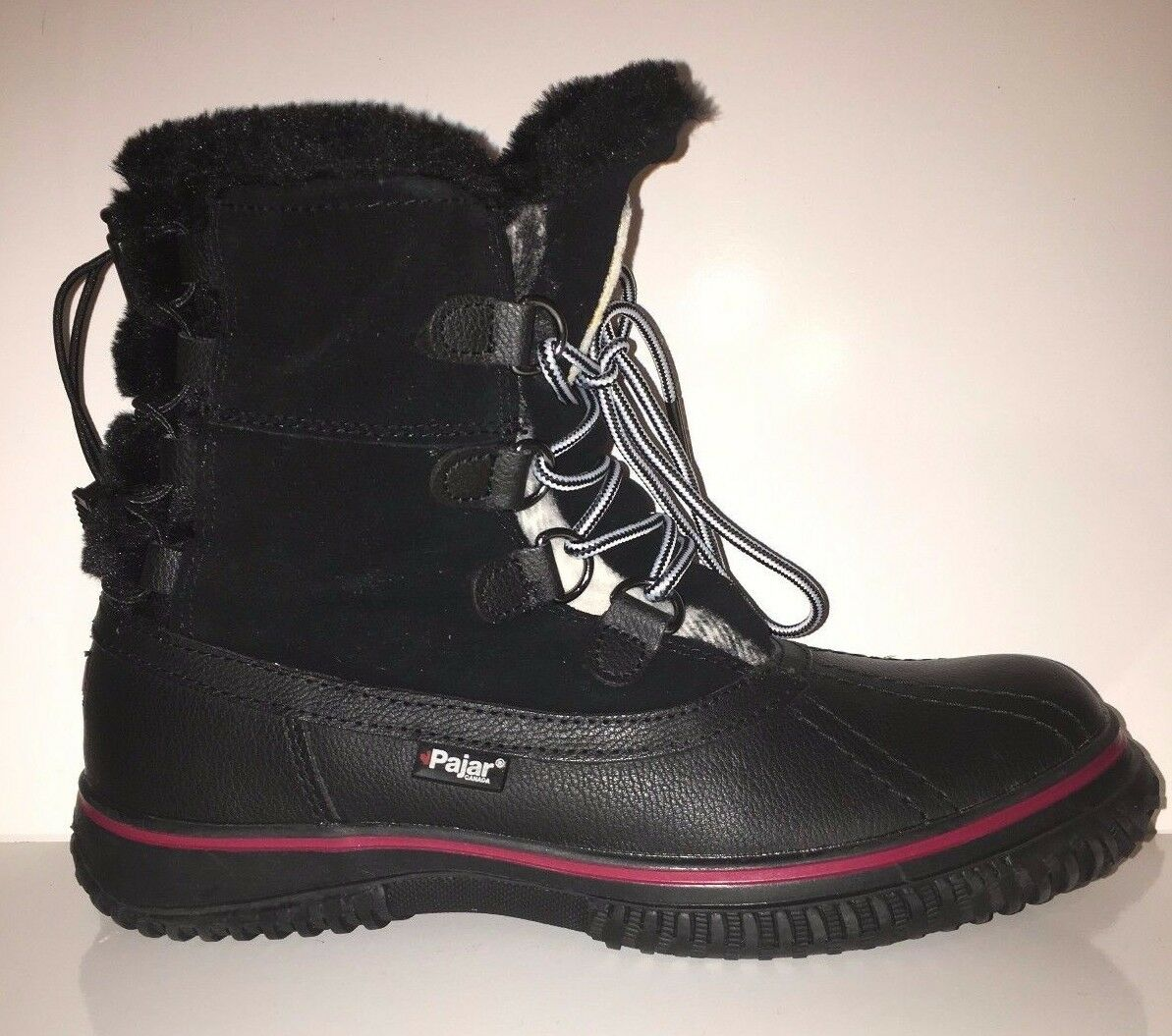 NEW Pajar Women's Iceburg Leather Snow Boots Waterproof shoes SZ 8 8.5