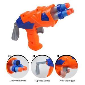 Kinder-Spielzeugpistole-fuer-Kugelpfeile-Runde-KopfNERF-D4H6-DE-Blasters-M7N6