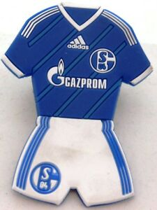 MAGNET-FC-Schalke-04-Form-Trikot-Home-Hose-Signet-S04-Lizenz-Kuehlschrankmagnet