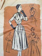 Vintage Dress Sewing Pattern Original by Esther Reifer Prominent Designer M392