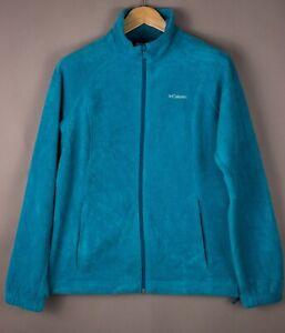 COLUMBIA-Men-Zip-Fleece-Jumper-Sweater-Size-L-ATZ1087