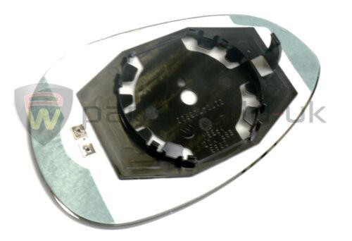 Fiat Nearside Left Mirror Glass 500 Grande Punto Evo /& Abarth New Genuine