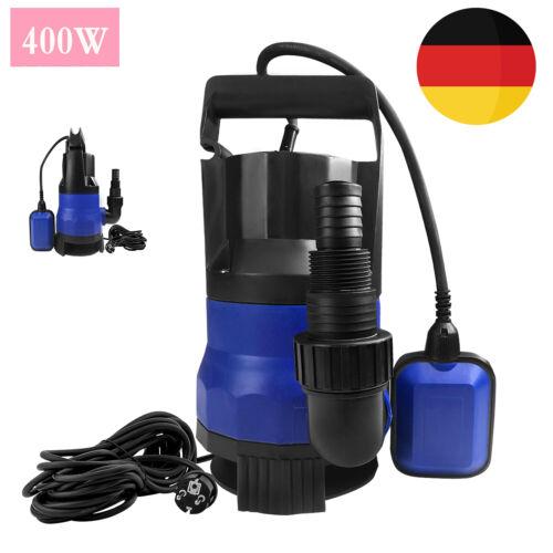 Schmutzwasserpumpe 400W Tauchpumpe Teichpumpe  IPX8 Schmutzwassertauchpumpe TOP