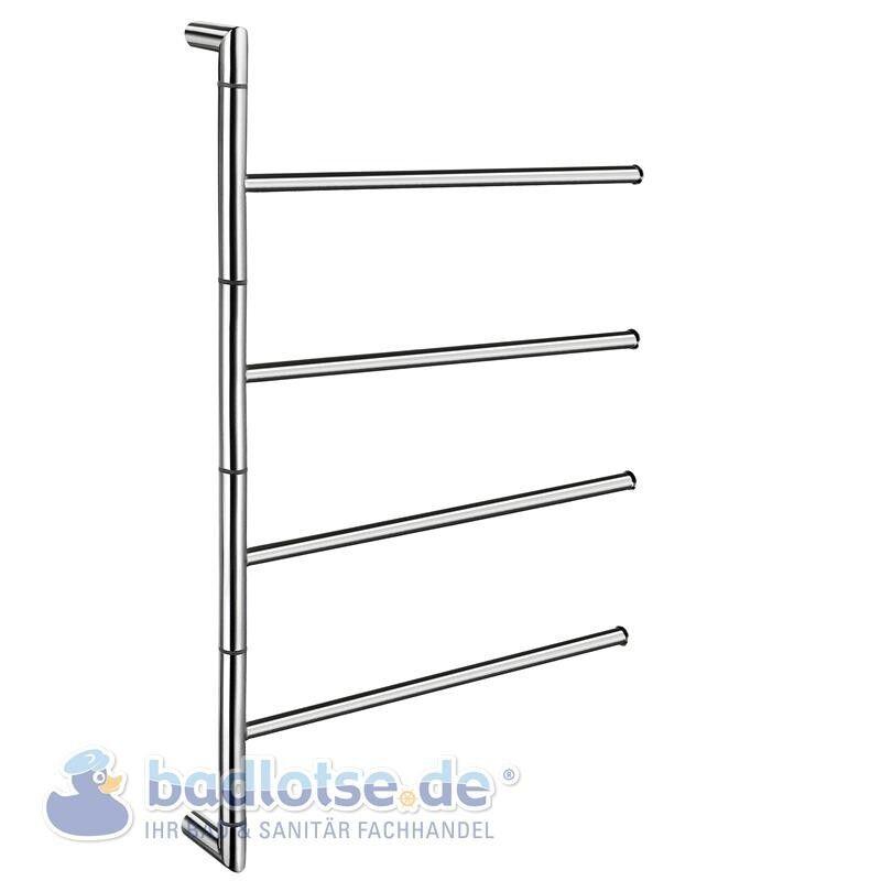 Smedbo Outline Lite Brillant Porte-Serviette Handtuch-Halter Pivotant FK634