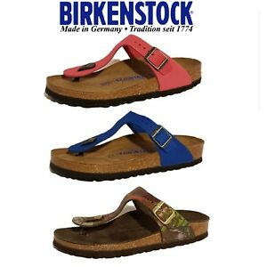 BIRKENSTOCK-GIZEH-NUBUCK-SUEDE-LEATHER-SANDALS-LADIES-GIRLS-FLIP-FLOPS-SLIP-ONS