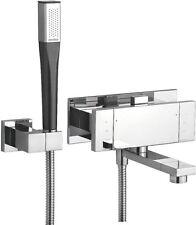 Damixa G-Type Designer Chrome Wall Mounted Bath Shower Mixer