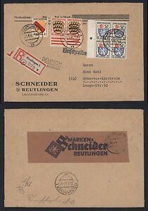 Frz-Zone-Allgemeine-Ausgabe-Brief-1947-Einschreiben-Reutlingen-Hannover