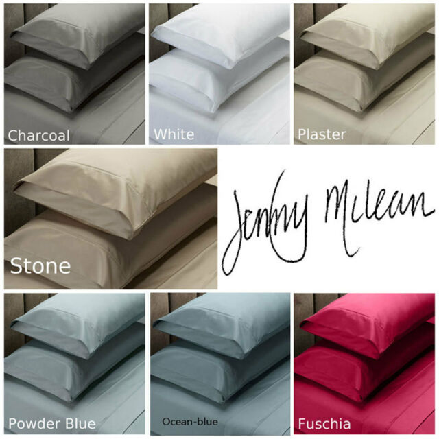 JENNY MCLEAN 1000TC COTTON RICH Fitted Sheet Set Double   Queen   King   Mega