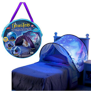 Dream Tents Pop Up Tent Winter Wonderland Twin Size Bed Toys Kids As