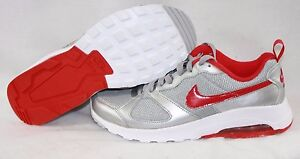 NEW Womens NIKE Air Max Muse 654729 069 Silver Red White Sneakers Shoes