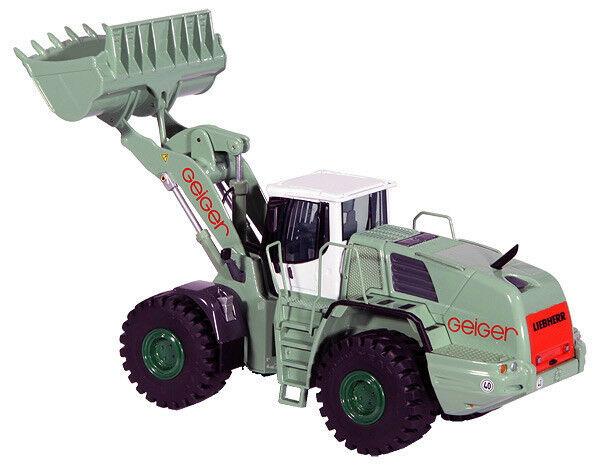 NZG 689-09 Liebherr Geiger L L L 586 2Plus2 Wheel Loader Die-cast 1 50 MIB open box 4fdabe