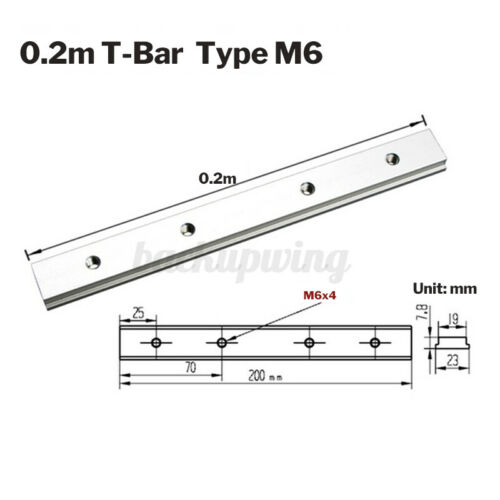 T-Track Führungsschiene T-Nut Werkzeuge Für Holzbearbeitung Aluminiumlegierung