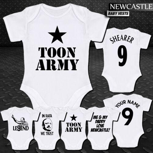 Benitez Babygrow Newcastle United NUFC Babyvest Shearer