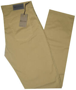 Pantalone Uomo Jeans Holiday 46 48 50 52 54 56 58 60 Cotone Estivo Giallo Etan