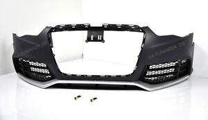 Fuer-Audi-A5-8T-RS5-Look-Stossstange-12-16-Wabengrill-Bumper-Kuehlergrill-Spoiler