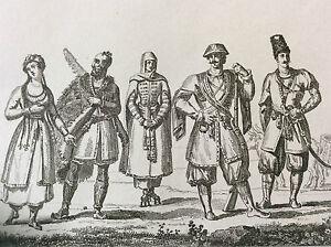 Asia-Power-Plant-Eurasia-Caucasus-Suits-Caucasiens-Georgia-XIX-Th-c1860