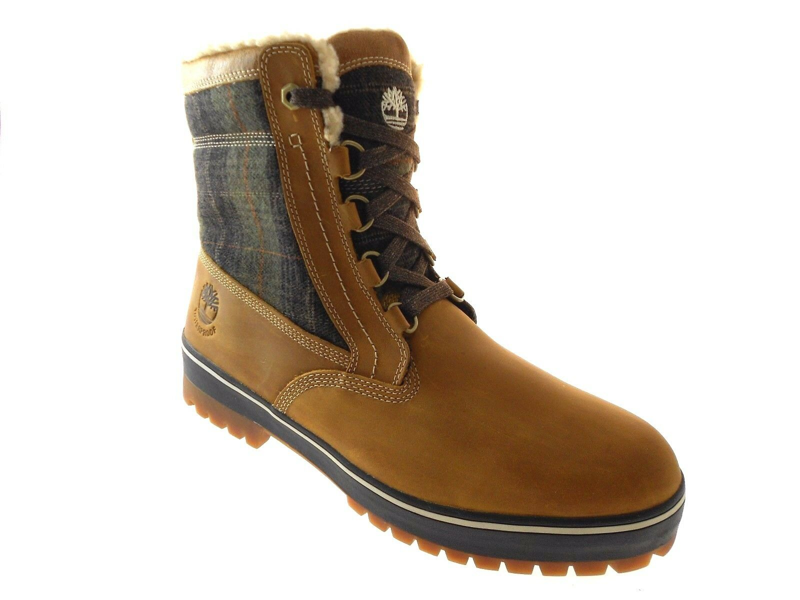 16f29102ad5 Details about TIMBERLAND MEN'S SPRUCE MOUNTAIN WHEAT PLAID WATERPROOF  INSULATED BOOTS 6900B