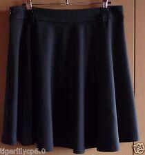 Zwarte soepele rok  Maat 38