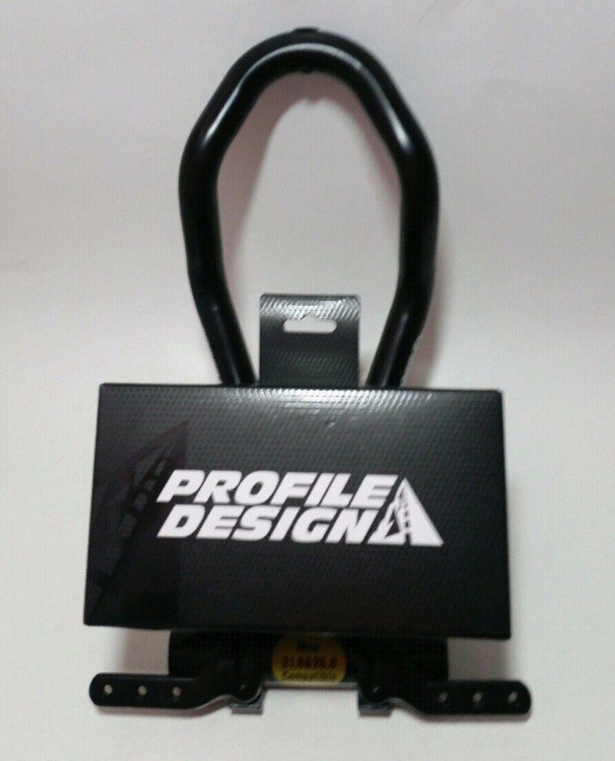 PROFILE DESIGN Legacy S Bend Aerobar Light tuttioy Bike Bar 26 & 31.8mm Compatible