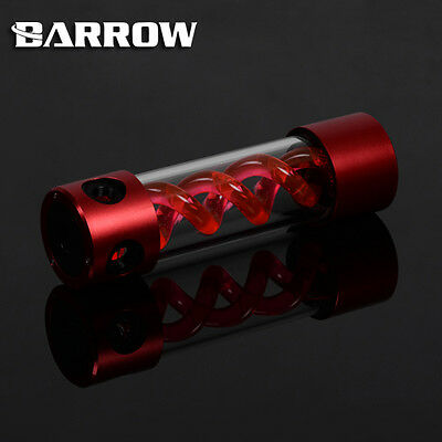 Barrow Alloy Cylinder T-Virus Red Spiral Suspension Tank Reservoir 205mm