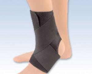 EZ-ON-Ankle-Wrap-Support-Wrap-Around-Compression-Warmth-Brace-FLA-Orthopedics