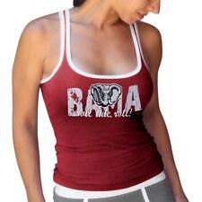Alabama Tide Women's Crimson Vintage Tank Top - Crimson - NCAA