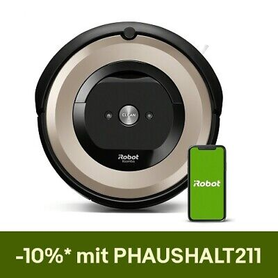 iRobot Roomba e6198 Saugroboter, generalüberholt,
