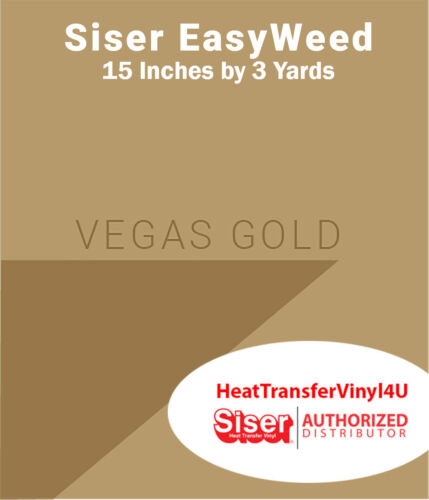 """/'Mix It Up/' Option Available! Siser EasyWeed Heat Transfer Vinyl 15/"""" x 3 Yards"""