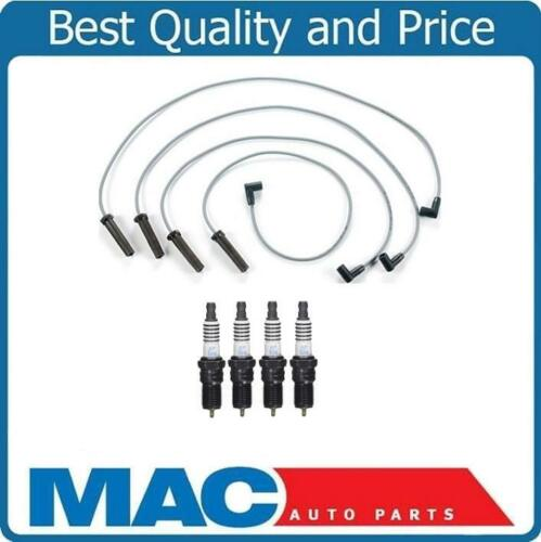 Platinum Plugs for 98-03 Chevy S10 2.2L Pick Up Ignition Spark Plug Wire Set