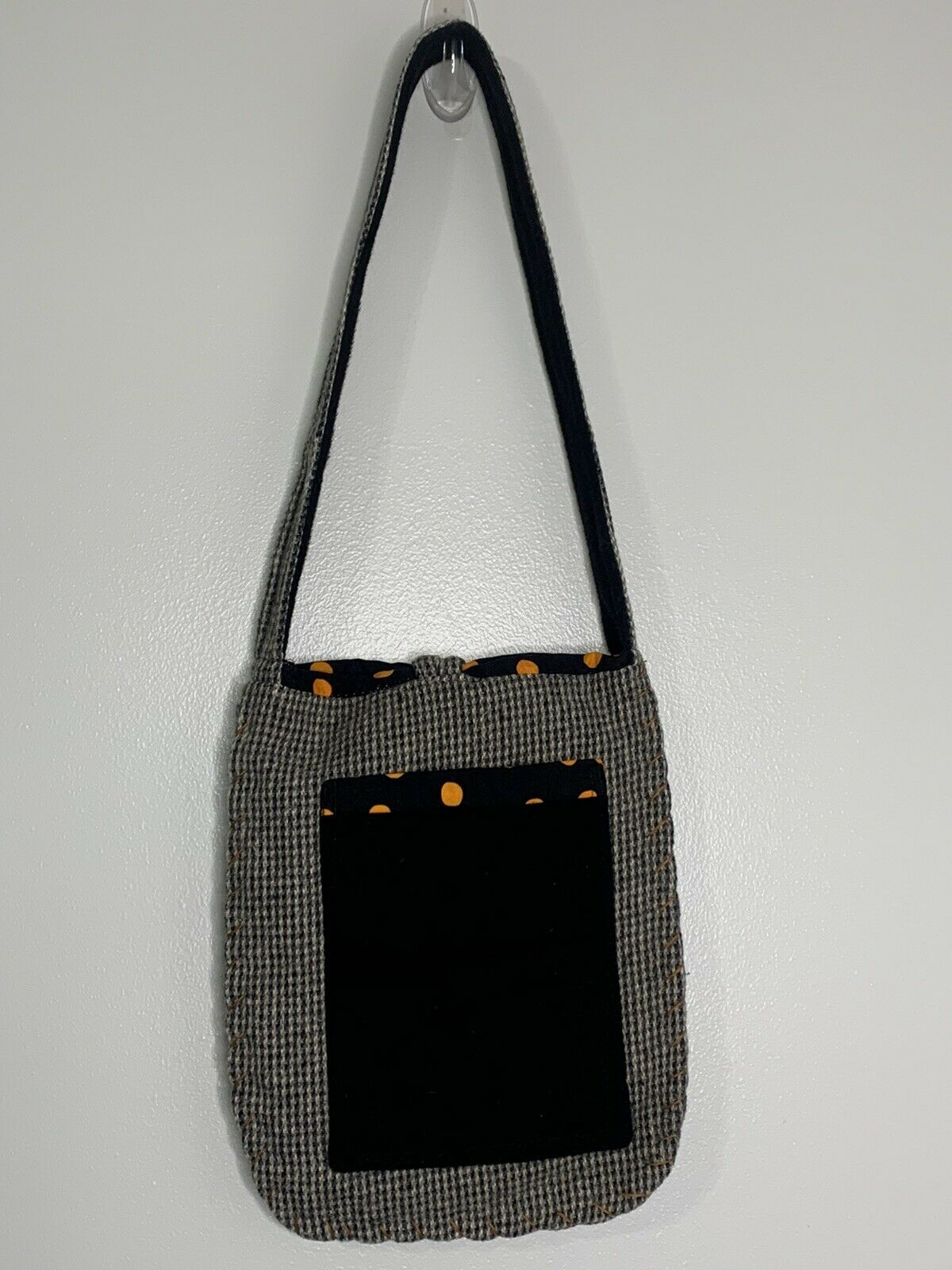 Wool Black Cat Bag Purse Shoulder Bag Handmade? U… - image 4