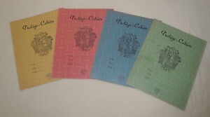 Protège Cahier GALLIA Lot de 4 couleurs TBE Référence de l'Education Nationale CDgz0tiv-09102052-565856942