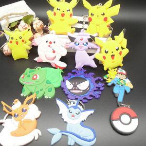 New-Pokemon-Go-Pikachu-Pocket-Monster-Anime-Keychain-Keyrings-Alloy-Pendant-Gift