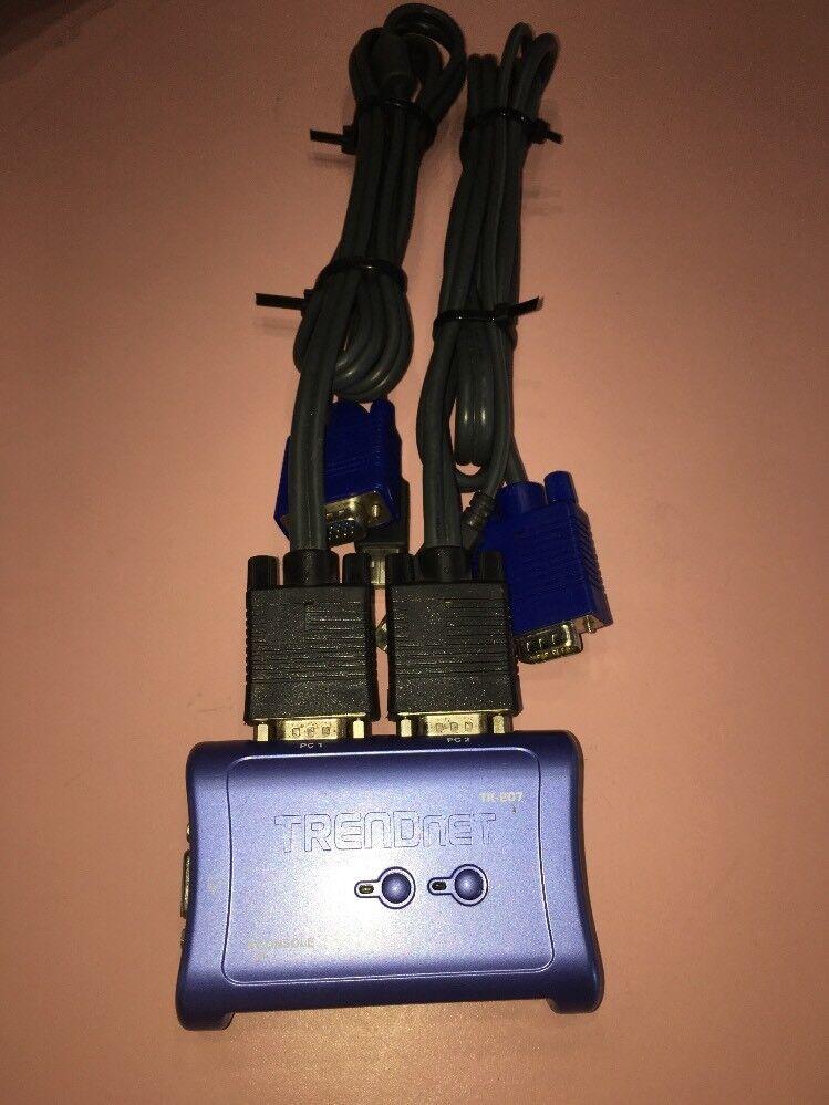 TRENDnet TK 207K - KVM switch - 2 ports
