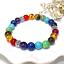 7-Chakra-Bracelet-Lava-Healing-Stones-Beaded-Gemstones-Beads-Elastic-Yoga-Stone thumbnail 65