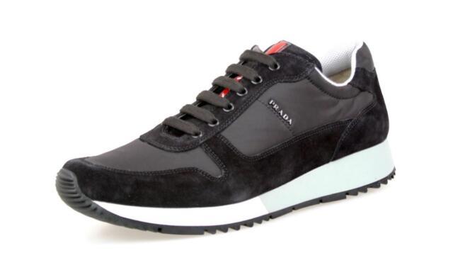 Luxury PRADA MATCHRACE SNEAKERS Shoes 3E5939 Black US 11 EU 41 41 5 ... 3e32e2723708