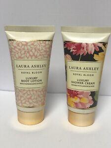 Laura Ashley Garden Bloom Travel Indulgence Shower Cream Body Lotion & Cream Set | eBay