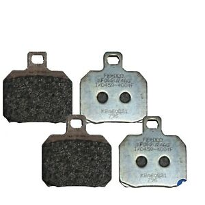 3 sets Piaggio Vespa Disc Brake Pads X9 180 Amalfi 2000-2003 Front /& Rear