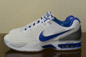 Dettagli su Nike AIR MAX COURTBALLISTEC 3.3 RAFA NADAL 2011 Wimbledon 429985 102 SZ 10 mostra il titolo originale