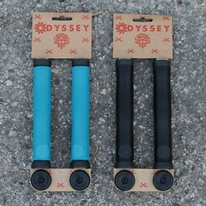 BLUE PURPLE CULT PRIMO BMX GRIPS SCOOTER ODYSSEY BMX GRIPS SCOOTER GRIPS BLACK