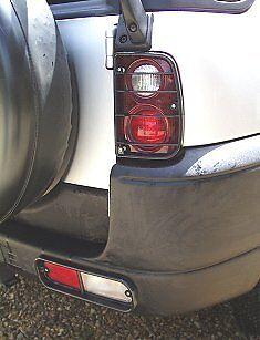 Rear light lamp guards black for Land Rover Freelander 1 upto 2004 3+5 door
