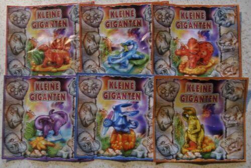 """BPZ Satz  /""""Kleine Giganten/"""" 2002 alle 6 verschiedenen"""
