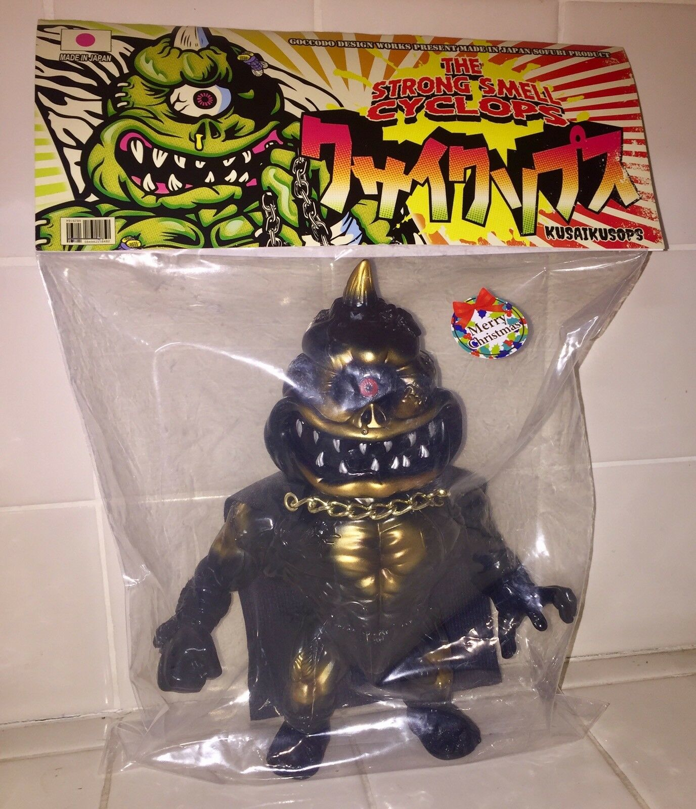 GOCCODO THE STRONG SMELL CYCLOPS DARK SIDE DARTH VADER KAIJU Punk Drunkers RARE