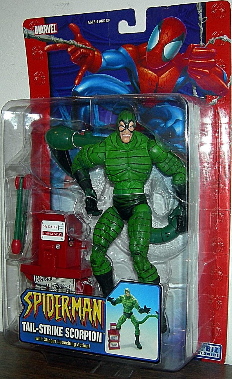 Spider-homme  Classics _ Queue-Strike Scorpion 6  Figurine avec Stinger Lancer Action  loisir