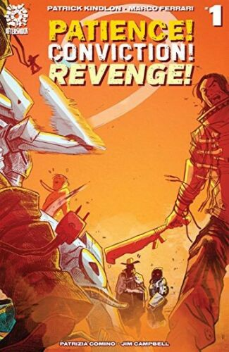 Patience Conviction Revenge #1 Cover A 09//19//18 2018, Aftershock Comics