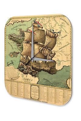 Entusiasta Orologio Da Parete Maritime Decorazione Vela Nave Acrilico Orologio Vintage Retrò- Per Godere Di Alta Reputazione Nel Mercato Internazionale