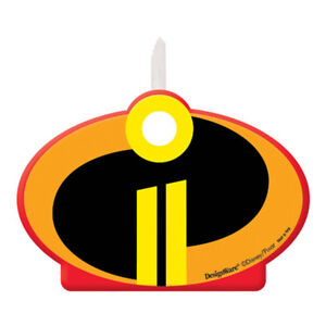 Image Is Loading INCREDIBLES 2 CAKE CANDLE Birthday Party Supplies Decoration