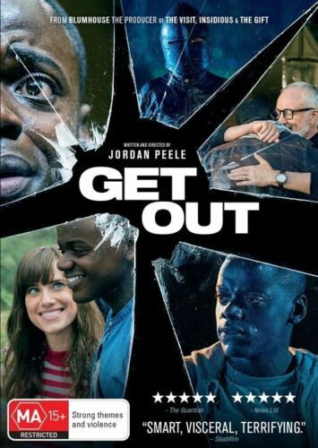 1 of 1 - GET OUT DVD, NEW & SEALED, REGION 4, 2017 RELEASE, FREE POST