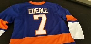 new products 8976f 672ea Details about Autographed Jordan Eberle Jersey - New York Islanders