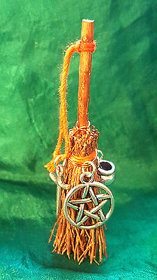 Broomstick Besom Talisman – THE ORIGINAL Handmade, Altar, Novelty, Witch, Wiccan