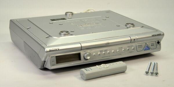 Sony Icf Cd543rm Kitchen Under Cabinet Mount Cd Am Fm